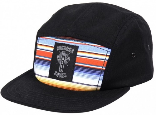 Subrosa SAVES Camp Hat Black/Baja