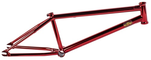 Mutiny 2015 LOOSEFER Frame Dip Red