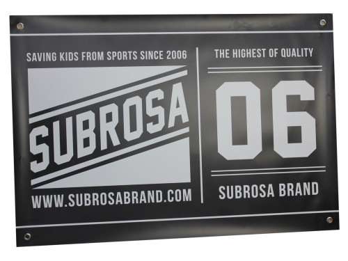 Subrosa One Color Banner 2016