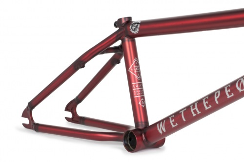 Rám Wethepeople AWAKE 2017 Matt Translucent Red