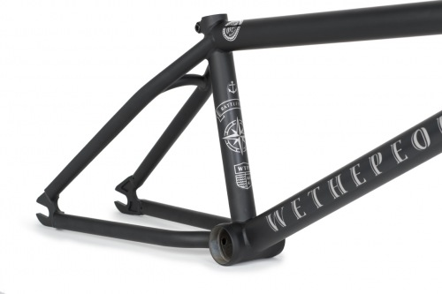 Rám Wethepeople BATTLESHIP 2017 Matt Black