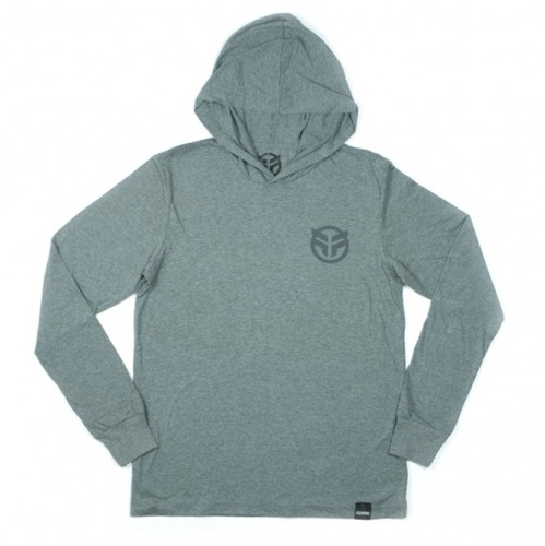 Mikina Federal LOGO grey
