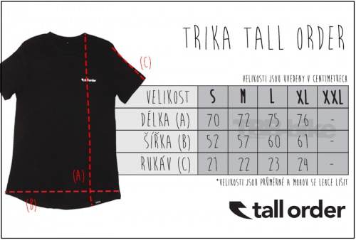 Triko Tall Order LOGO Black