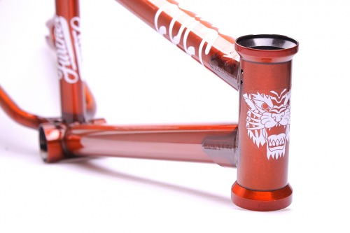 Rám Cult SHORTY RICANY Translucent Orange