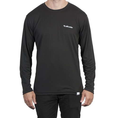 Triko Tall Order LS LOGO Breathe-Tech Black