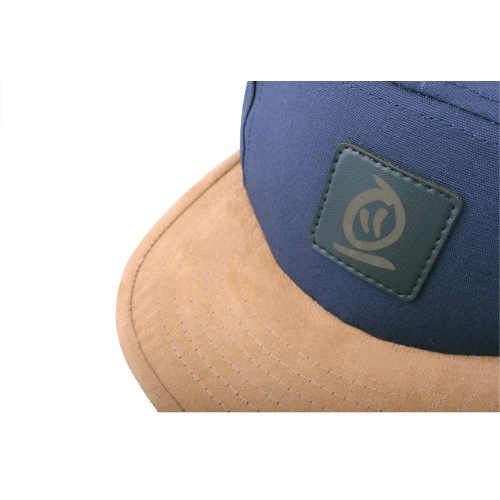 Kšiltovka Thebikebros BADGE 5 Panel Navy