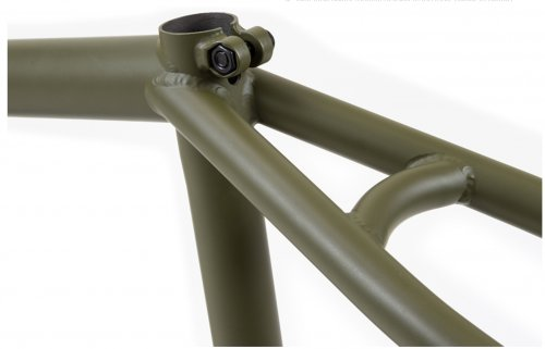 Rám Fiend MORROW V3 Flat Fatigue Green