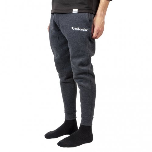 Tepláky Tall Order EMBROIDERED LOGO Dark Grey