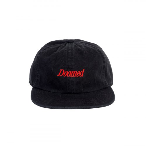 Kšiltovka Doomed SERIF 6 Panel Black