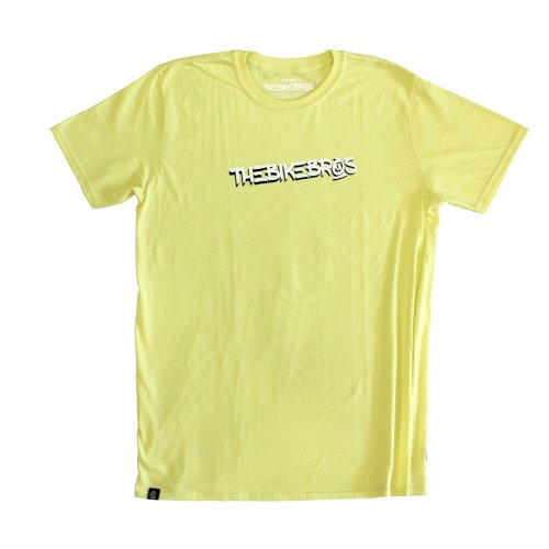 Triko Thebikebros COOL Light Yellow
