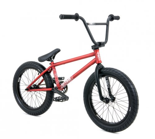 "Flybikes 2020 SUPERNOVA 18"" LHD Flat Dark Red"