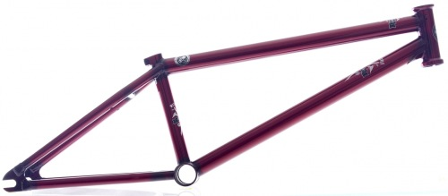 Wethepeople PATRON Frame Lucent Red