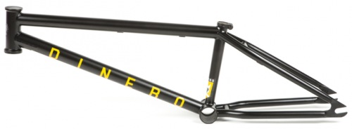 United DINERO Frame Satin Black