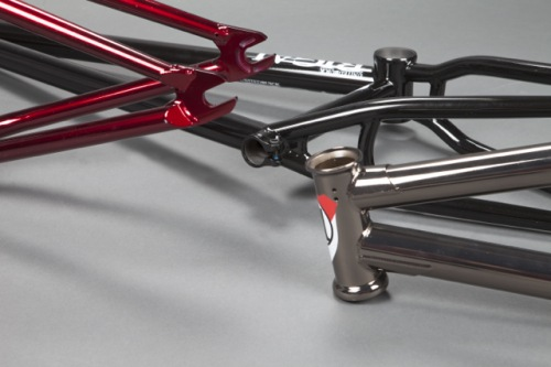 United RIGAL Frame Gloss Dark Red