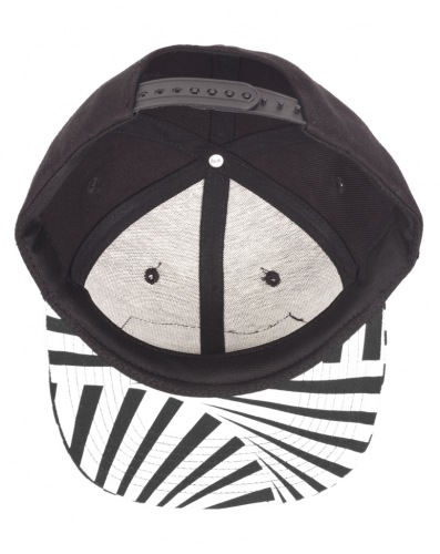 Subrosa PARTY Snapback Hat Black/White