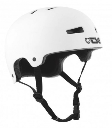 TSG EVOLUTION Solid Color Helmet Matt White