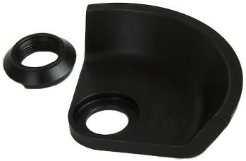 Shadow Drive Side Hubguard Black
