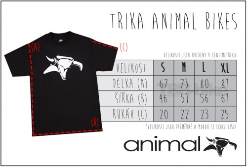 Animal EMBLEM T-Shirt Black