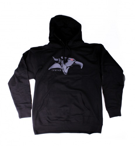 Animal GRIFFIN Pullover Hoodie Black