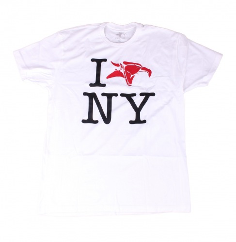 Triko Animal I LOVE NY White
