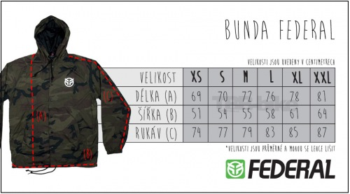 Bunda Federal LOGO Black