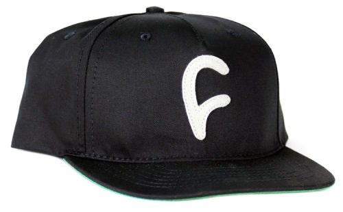 Cult FELT C Snapback Hat Black