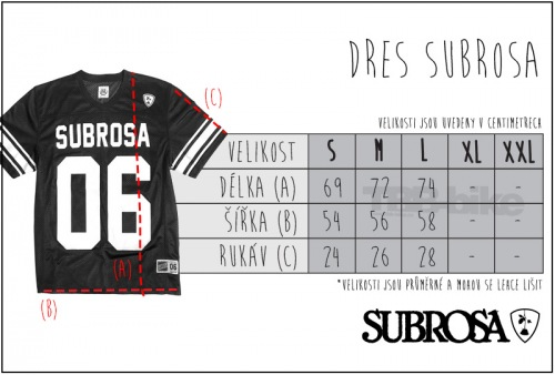 Dres Subrosa UNDER THE ROSE Black