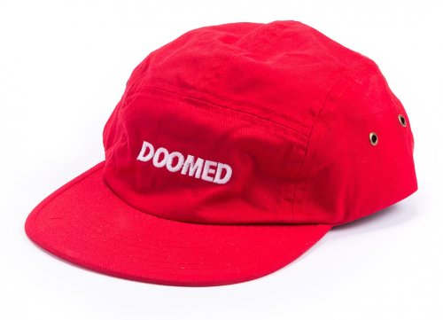 Kšiltovka Doomed REDWOOD 5 Panel Red