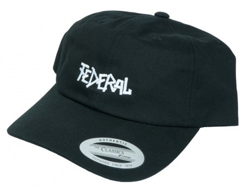 Kšiltovka Federal Dad Cap Black
