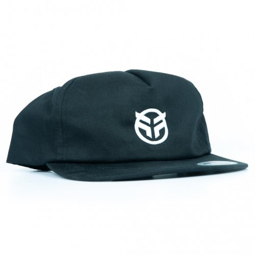 Kšiltovka Federal LOGO 5 Panel Snapback Black