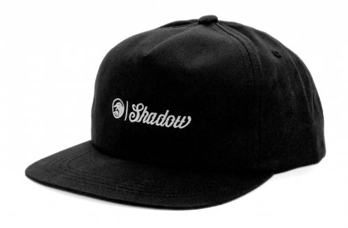 Kšiltovka Shadow BLOCK Snapback Black