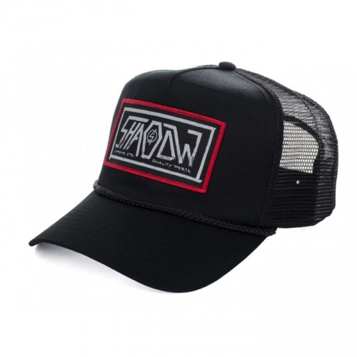Kšiltovka Shadow HELL BENT Trucker Black