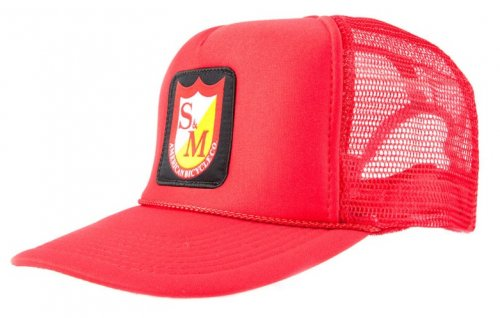 Kšiltovka S&M PATCH Trucker Red