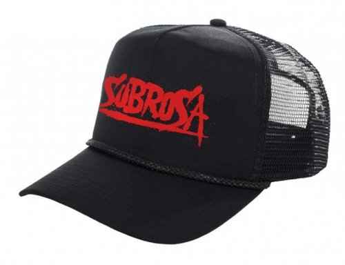 Kšiltovka Subrosa SPLATTERED Trucker Black