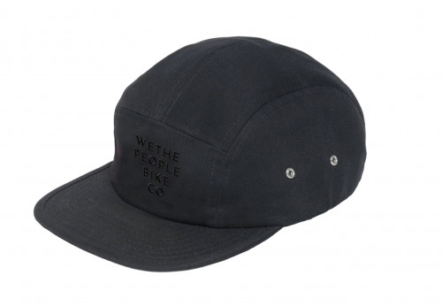 Kšiltovka Wethepeople BIKE CO 5 Panel Black