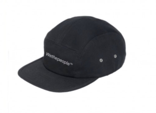 Kšiltovka Wethepeople WTP 5 Panel Black