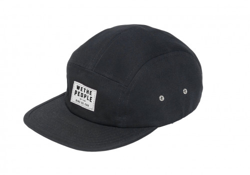 Kšiltovka Wethepeople WTP - CGN 5 Panel Black