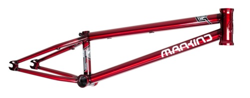 Mankind JUSTICE Frame Clearcoat Red