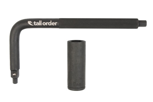 Multiklíč Tall Order POCKET SOCKET Black