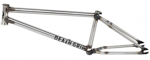 Mutiny 2016 DEATH GRIP Frame Gloss Raw
