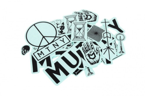Mutiny NEW Sticker Pack Black