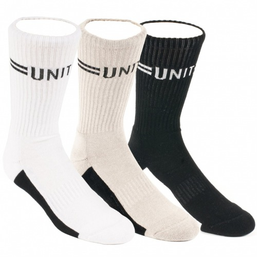 Ponožky United Signature 3 Pack Black/White/Grey