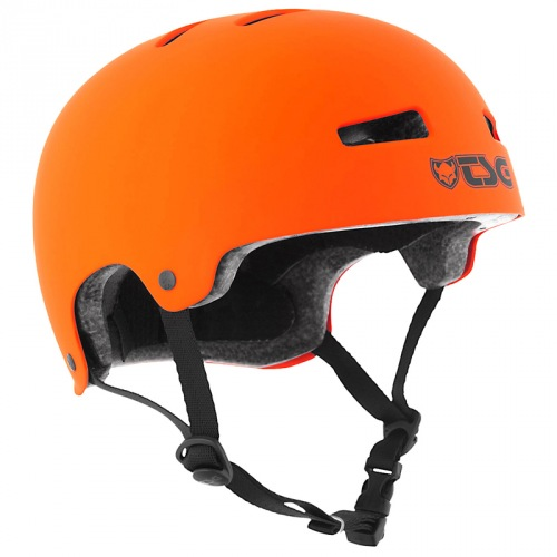 Přilba TSG EVOLUTION Solid Color Satin Orange
