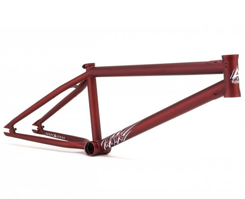 Rám Flybikes AIRE 2 Flat Dark Red