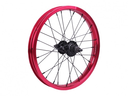 "Salt AM 16"" Rear Wheel Black/Red"