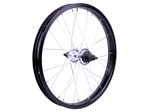 "Salt AM 18"" Rear Wheel Silver/Black"