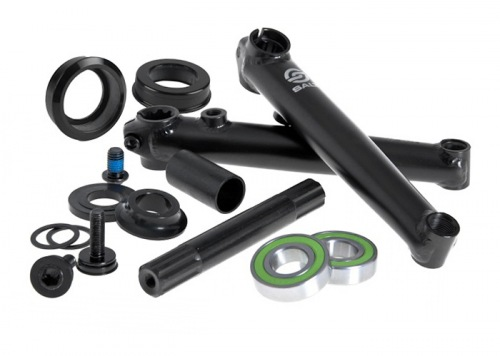 Salt ROOKIE Cranks MID BB Black