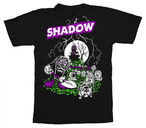 Triko Shadow GRAVEDIGGER Black