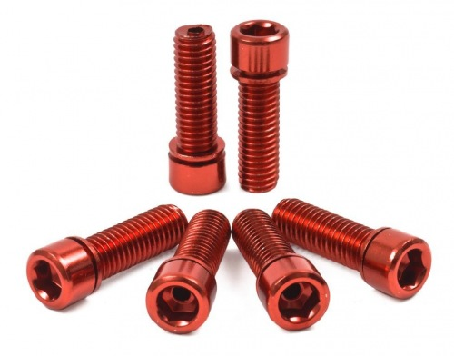 Shadow Hollow Stem Bolts Red