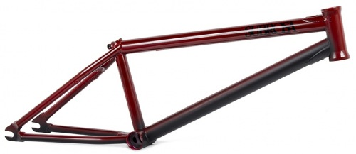 Subrosa THUNDERBEAST Frame Trans Red/ Black Fade